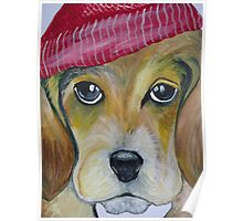 Beagle Pup Poster