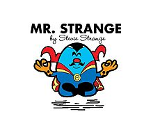 Mr Strange Photographic Print