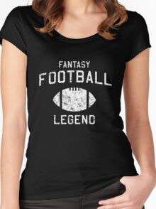 Fantasy Football Legend Women's Fitted Scoop T-Shirt