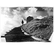 Stairway To Castell Poster