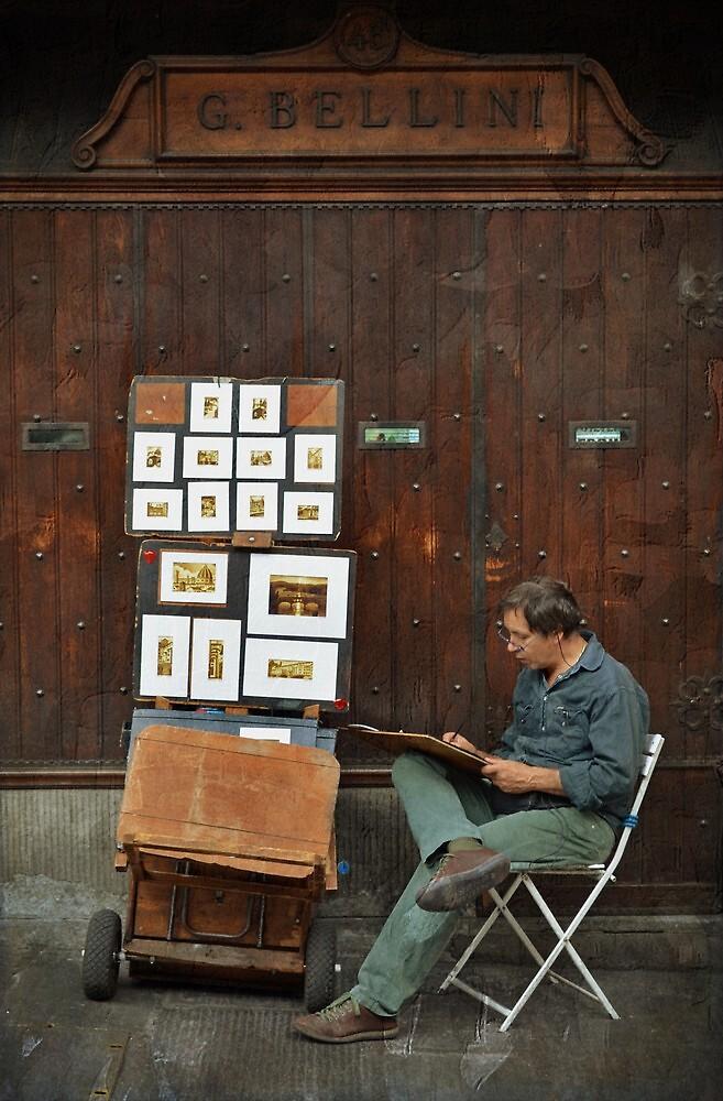 The artist by rentedochan
