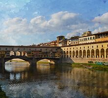 Il Ponte Vecchio - Firenze by rentedochan