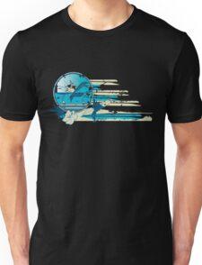 Vintage Surf Scene Unisex T-Shirt