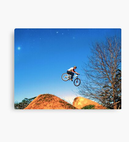 Giant Leap Canvas Print