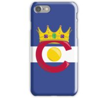 Colorado King iPhone Case/Skin