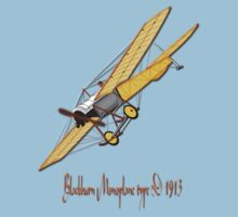 Blackburn Monoplane type D 1913 T-shirt Kids Clothes
