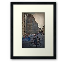 Word Cycling Championship ~ Firenze 2013 Framed Print