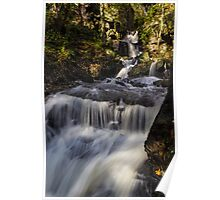 Cascades at Lumsdale Falls Poster