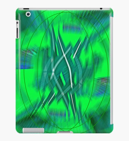 Green Armour  iPad Case/Skin
