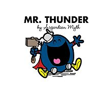 Mr Thunder Photographic Print