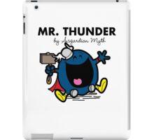 Mr Thunder iPad Case/Skin