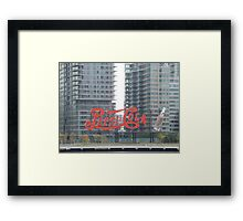 Historic Pepsi Cola Sign, Long Island City, New York Framed Print