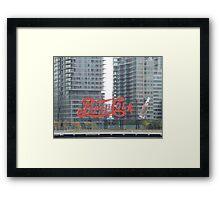 Historic Pepsi Cola Sign, Long Island City, New York Framed Print