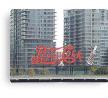 Historic Pepsi Cola Sign, Long Island City, New York Canvas Print