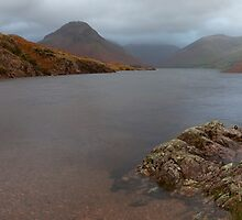 Wast Water Shore by Nick Atkin