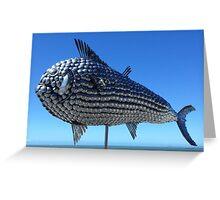 Utensil fish. North Queensland  Greeting Card