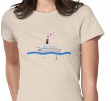 Love Boat Captain Womens Fitted T-Shirt