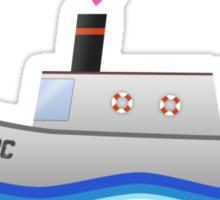 Love Boat Captain Sticker