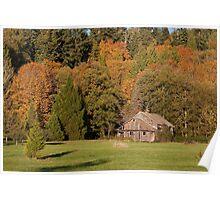 Fall in Whatcom County, Washington Poster