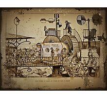 Les Tours Travel Machine Photographic Print