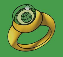 Planeteer Ring - Earth - Large image by DGArt