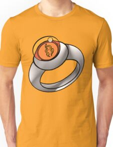 Planeteer Ring - Fire - Large image Unisex T-Shirt