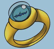 Planeteer Ring - Water - Large image Kids Tee