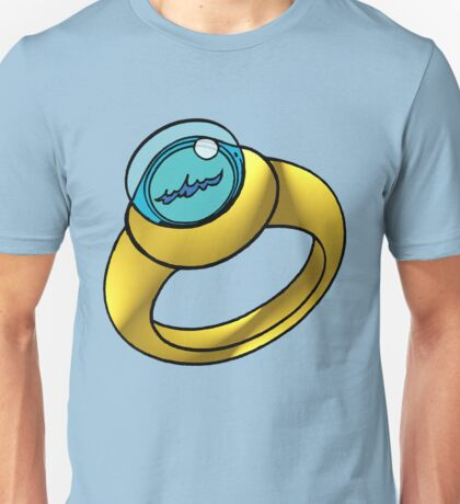 Planeteer Ring - Water - Large image Unisex T-Shirt