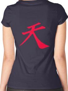 Street Fighter - Raging Demon Women's Fitted Scoop T-Shirt