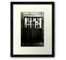 Weathered and Beaten (but still standing) Framed Print