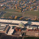 Sunrise over Indianapolis Motor Speedway  by Alex Preiss