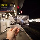 Birmingham New Street Platform 7 1885 by Tim Cornbill