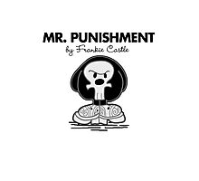 Mr Punishment Photographic Print