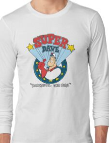 Super Dave: Daredevil for Hire - Logo Long Sleeve T-Shirt