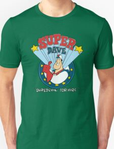 Super Dave: Daredevil for Hire - Logo Unisex T-Shirt