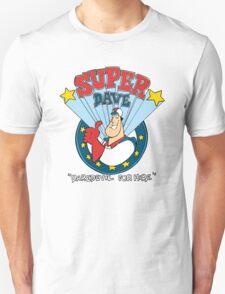 Super Dave: Daredevil for Hire - Logo Unisex T-Shirt