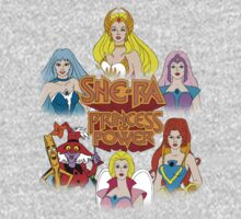 She-Ra Princess of Power - Girls of The Great Rebellion - Color One Piece - Long Sleeve