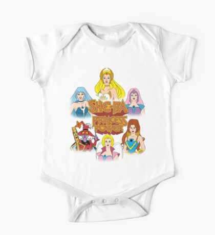 She-Ra Princess of Power - Girls of The Great Rebellion - Color One Piece - Short Sleeve