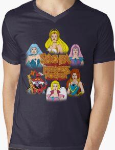She-Ra Princess of Power - Girls of The Great Rebellion - Color Mens V-Neck T-Shirt