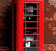 Red Phone Box London England UK by NaturePrints
