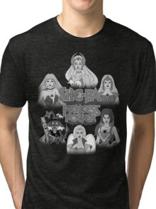 She-Ra Princess of Power - Girls of The Great Rebellion - Black & White Tri-blend T-Shirt