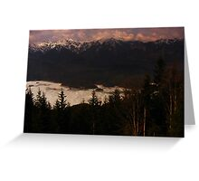Zugspitze Greeting Card