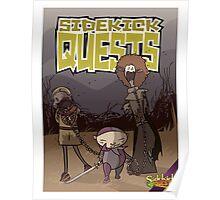 Sidekick Quests Walking Dead Print Poster