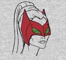 She-Ra Princess of Power - Catra - Mask Down One Piece - Long Sleeve