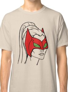 She-Ra Princess of Power - Catra - Mask Down Classic T-Shirt