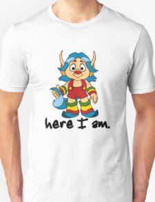 She-Ra Princess of Power - Loo Kee - Here I Am - Black Font Unisex T-Shirt