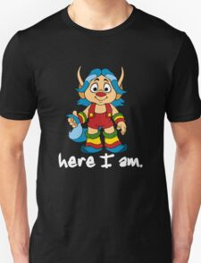 She-Ra Princess of Power - Loo Kee - Here I Am - White Font T-Shirt