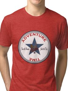 Adventure Time Converse Tri-blend T-Shirt