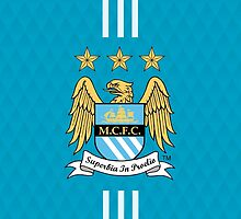 manchester city blue cool by arisfebriyanto