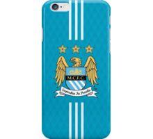 manchester city blue cool iPhone Case/Skin